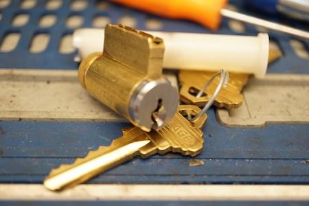 locks getting rekeyed