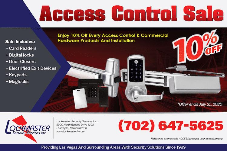 access control sale